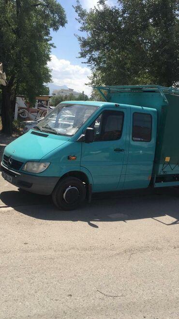 sambovka green hill в Кыргызстан: Мерседес Спринтер 413 . Дубль кабина борт 3.6 м. Тент шторка