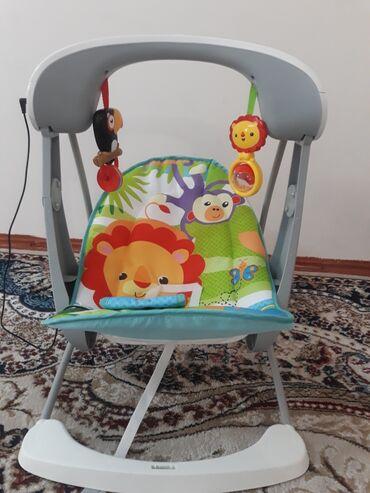 baby yoya в Кыргызстан: Электронная качалка от Fitch baby есть подзарядник, коробка
