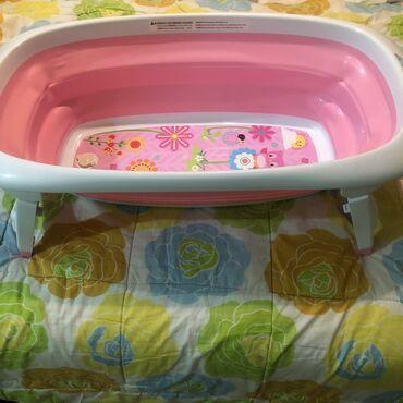 Ванночка детская складная