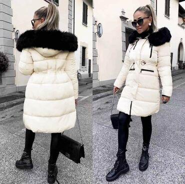 Pretople zimske jakne TURSKA  Bela: XL Crna: S, M, L, XL 655