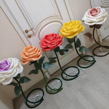 торшер со стеклянным абажуром в Кыргызстан: Ростовые розы(торшер)