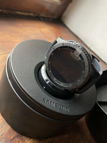 sumsung s3 в Кыргызстан: Часы Samsung Gear S3 Frontier, цена договорная