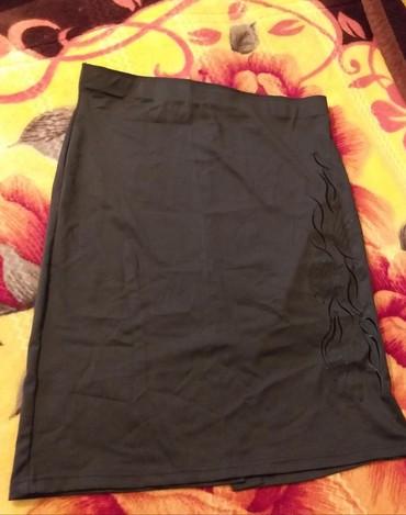 futbolka ja в Кыргызстан: Классическая чёрная юбка, размер 54-56, Новая