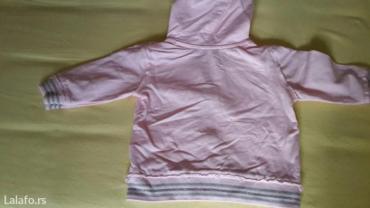 Roze pamučna jaknica - Belgrade