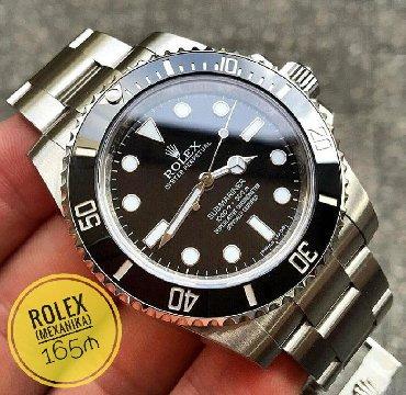 Qol saatları Bakıda: Boz Kişi Qol saatları Rolex