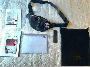 AUTHENTIC BELT BAG KARL LAGERFELD WITH PAPERS σε Αθήνα - εικόνες 6