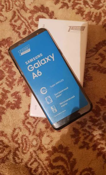 Samsung Galaxy A6 32gb black 2018 в Душанбе