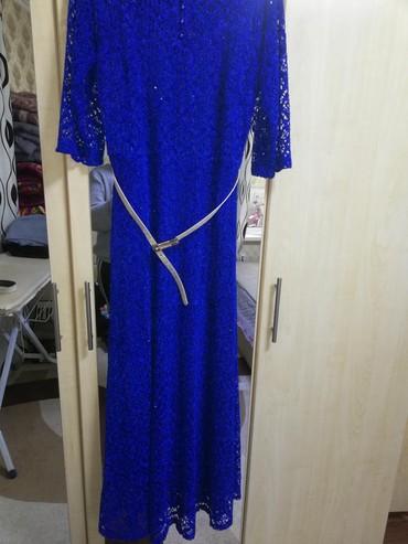 турецкие платья со стразами в Кыргызстан: Продаю шикарное вечернее платье со стразами и с блёстками с красивым