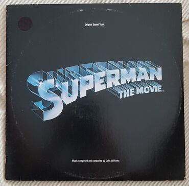 SUPERMAN-ORIGINAL SOUNDTRACK, ΔΙΠΛΟ ΒΙΝΥΛΙΟ ΑΜΕΡΙΚΑΝΙΚΗΣ ΠΑΡΑΓΩΓΗΣ