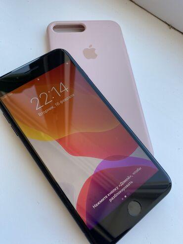 купить бу iphone 11 pro в Кыргызстан: Б/У iPhone 7 Plus 128 ГБ Черный