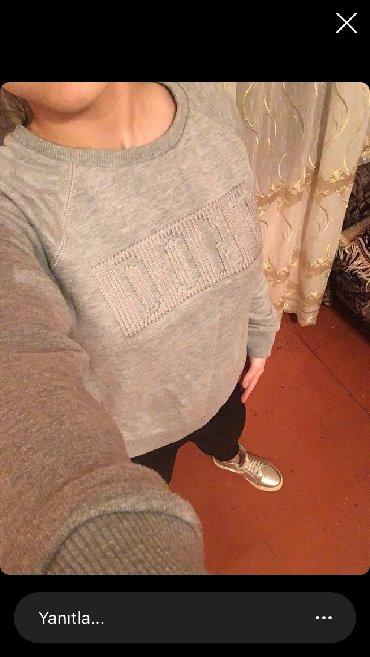 женские-серые-свитера в Азербайджан: LBT firması qalın kofta