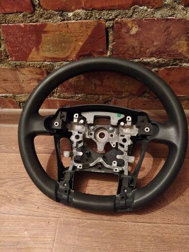 Продаю руль без кнопок и дверные обшивки черного цвета на Тойота Приус