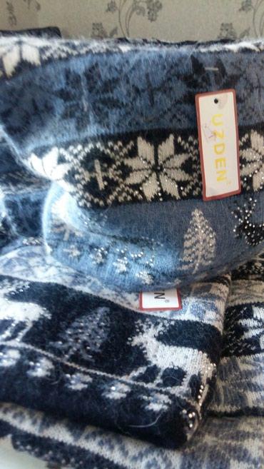 Новые шапка-шарф ангорка очень красивые в Лебединовка