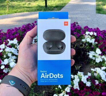 Наушники - Тип: Наушники - Бишкек: Наушники Xiaomi airdots Абсолютно новые, не пользовались. Комплектация