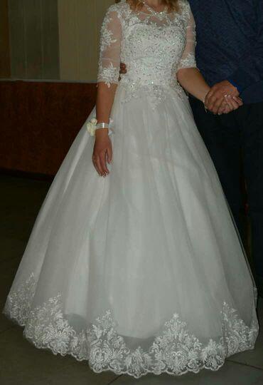 Продаю, на прокат, свадебное платье, одевалась один раз
