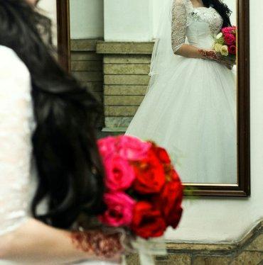 Свадебные платья - Кок-Ой: Торг уместен. Свадебное платье. качество супер. состояние идеальное