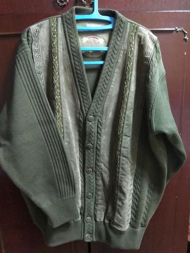 Мужские свитера в Кыргызстан: Мужской кардиган, теплый, на 48-50 размер
