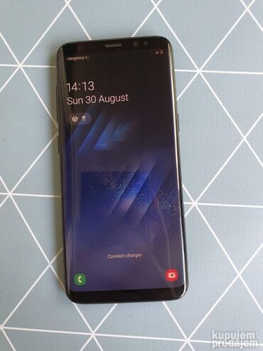 Fiksni telefon - Srbija: Upotrebljen Samsung Galaxy S8 64 GB crno
