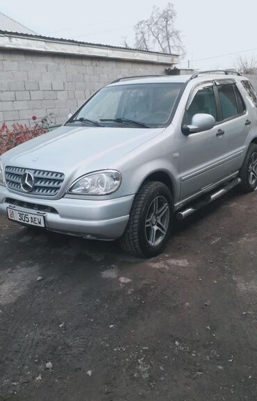 Mercedes-Benz в Кыргызстан: Mercedes-Benz ML 320 3.2 л. 2001 | 220000 км