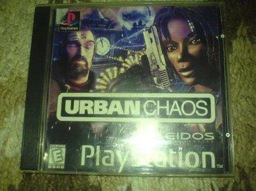 Bakı şəhərində Urban chaos oyunu playstation 1 ucun qiymet sondur