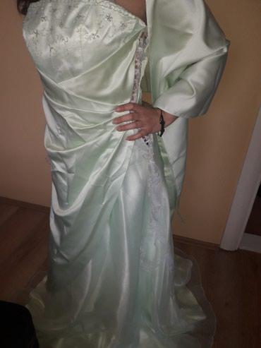 Ostalo | Novi Becej: Svecana haljina jednom nosena 1500din