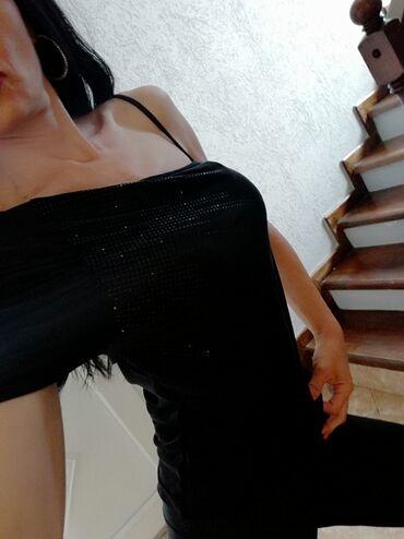 Ženska odeća - Jagodina: Crna zenstvena bluza, h&m. NovaVel s. Saljem post expresom
