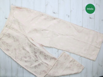 Женские штаны в бельевом стиле H&M, р. M-L    Длина: 96 см Шаг: 66