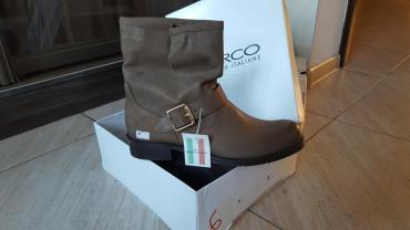 """дев сапоги в Ак-Джол: Итальянские брендовые сапожки от """"MARCO"""" демисезон, очень удобные"""
