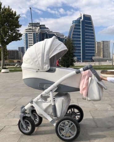 - Azərbaycan: Коляска Camarelo Sirion Eco 2 в 1, итальянский дизайн, покупалась в