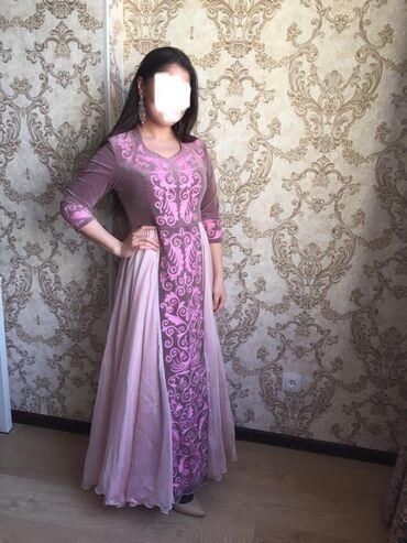 Платья - Кыргызстан: Платье на кыз узатуу в отличном состоянии. Было сшито на заказ. Надева