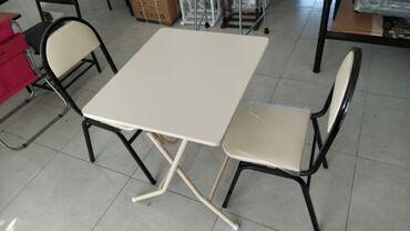 стол деревянный кухонный в Азербайджан: Masa desti 90 azn masa aclan yigilan olcu 70×60 sm madel yeni mehsul