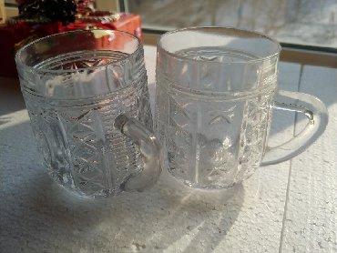 Стеклянные стаканы - Кыргызстан: Стаканы в наличии 9 шт. 40 сом за шт