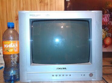 Продаю телевизор (без пульта) в хорошем состоянии, цветной, работает
