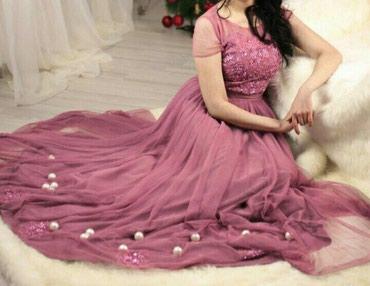 вечернее платье ручной работы в Кыргызстан: Размер 44-46,ручной работы все камушки пришиты