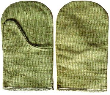 Садовая одежда - Кыргызстан: Защитные перчатки для сварщика - рукавицы брезентовые с огнеупорной