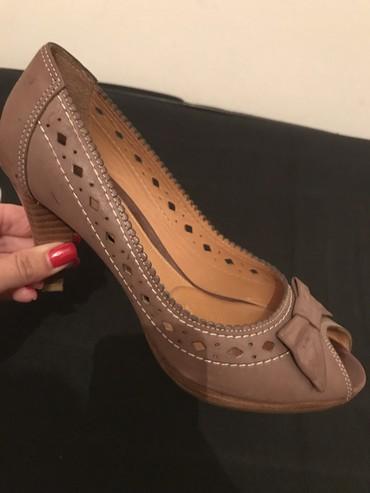 Kozne-flekica-samo - Srbija: Prelepe kozne Geox cipele, 38 broj samo jednom nosene, kao nove. Kuplj