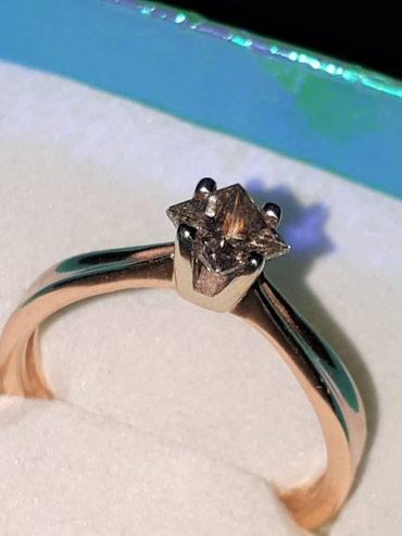 Продаю золотое кольцо бриллиант 0.5 в Бишкек