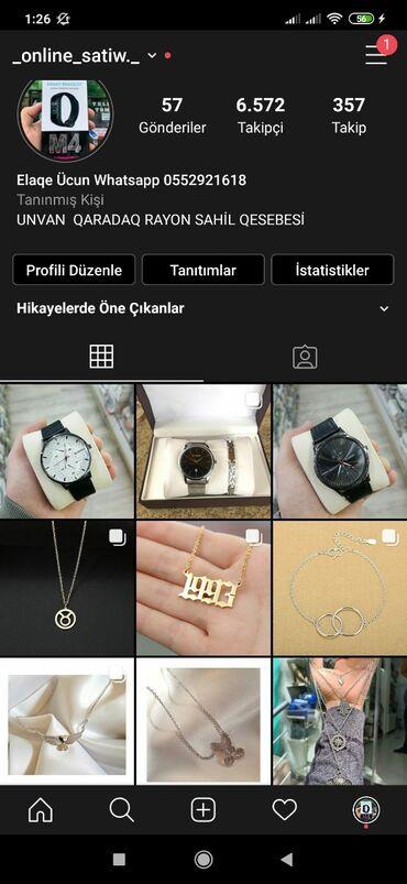 bmw-7-серия-735i-at - Azərbaycan: Takib atin inistada ucuz qolbaq zad var ne istesez inista adi