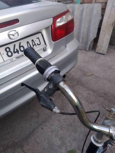 Велосипед скоростной,усиленая рама,передние амортизаторы,задний