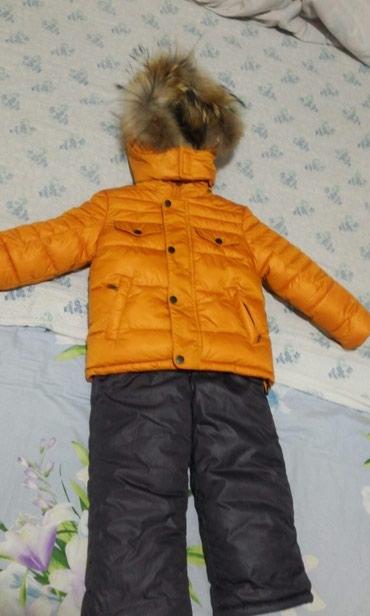 Комбинезон очень тёплый, на 3-4 года, состояние отличное. в Бишкек