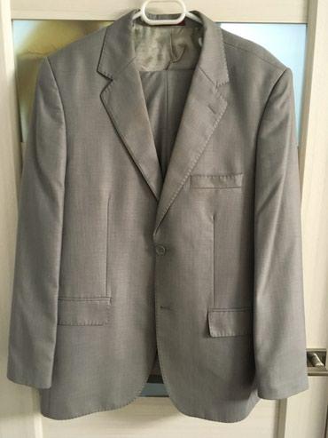 Костюм мужской. Пиджак размер 48. Брюки в Бишкек