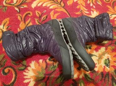 Новые сапоги 36р маломерят ножки сухие и теплые в Бишкек