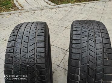 Продаю зимние шины,две штуки.размер 18