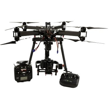 XFold rigs TRAVEL X8 Octocopter