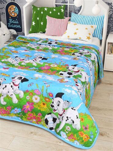 Одеяло-покрывало бязь - 140х205, Бай-БаюнСтеганое, двухстороннее