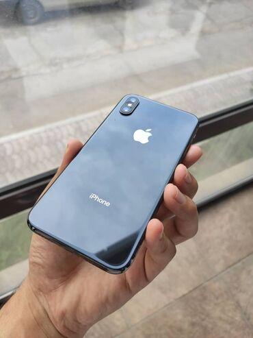 сколе в Кыргызстан: Б/У iPhone X 256 ГБ Черный