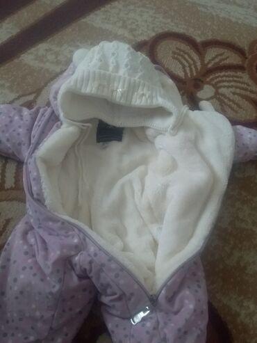 Дет комбинезон на девочку 3-6месяца сост отличн теплый