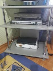 Подставка под телевизор или любую другую аппаратуру.Можно как столик. в Бишкек