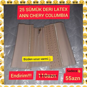 25 sumuk original deri latex ANN CHERY Columbiya,mehdud