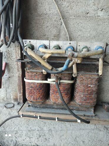 Инструменты - Кыргызстан: Продаю сварочный аппарат трёхфазный, постоянного тока, кабель 20